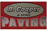 R COOPER & SONS PAVING logo
