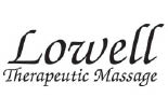 LOWELL THERAPEUTIC MASSAGE logo