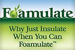 FOAMULATE Home Insulation logo