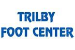 TRILBY FOOT CENTER logo