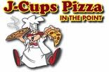 J-CUPS PIZZA logo