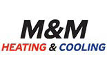 M & M HEATING & AIR logo