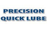 PRECISION QUICK LUBE logo