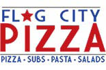 FLAG CITY PIZZA logo
