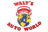 WALTS AUTO WORLD logo