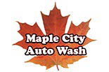 MAPLE CITY AUTO WASH logo