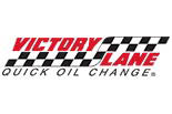 VICTORY LANE OIL CHANGE logo