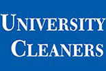 UNIVERSITY CLEANERS logo