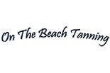 ON THE BEACH TANNING logo