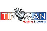 TINMAN HEATING & COOLING logo