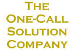 THE ONE CALL SOLUTION COMPANY logo