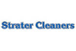 STRATER CLEANERS logo