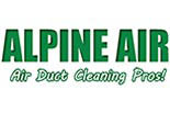 Alpine Air- Air Duct Cleaning logo