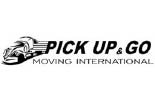 PICK UP AND GO MOVING logo