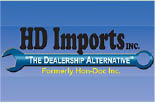HD IMPORTS INC. logo
