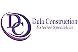DULA CONSTRUCTION logo
