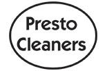 PRESTO CLEANERS logo