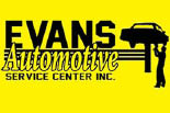 EVANS AUTOMOTIVE logo