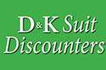 D & K SUIT DISCOUNTERS logo