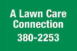 A LAWNCARE CONNECTION logo
