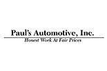 Paul's Automotive, Inc. logo