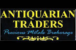 ANTIQUARIAN TRADERS logo