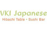 VKI JAPANESE STEAK HOUSE & SUSHI BAR logo