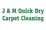 J & M QUICK DRAY CARPET CLEANING logo