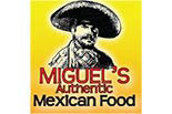 MIGUEL'S AUTHENTIC MEXICAN FOOD logo