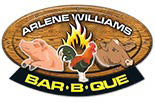 ARLENE WILLIAMS'  BAR B QUE logo