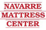 NAVARRE MATTRESS CENTER logo
