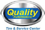 QUALITY AUTOMOTIVE TIRE AND SERVICE CENTER logo