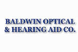 BALDWIN OPTICAL & HEARING AID CO. logo