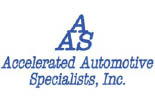 ACCELERATED AUTOMOTIVE SPECIALISTS logo