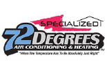 SPECIALIZED HEATING & AIR CONDITIONING logo