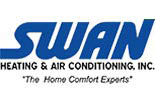 SWAN HEATING & AIR CONDITIONING logo