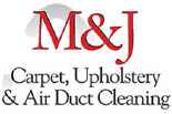 M & J CARPET CLEANING logo