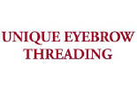 UNIQUE EYEBROW THREADING logo