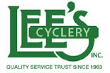Lee's Cyclery logo