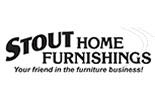 STOUT HOME FURNISHINGS logo