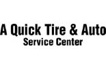 A-QUICK TIRE AND AUTO logo