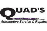 QUAD'S MAXIMUM EXHAUST logo