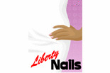 LIBERTY NAILS logo