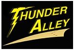 THUNDER ALLEY OF LELAND logo