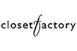 CLOSET FACTORY, THE logo