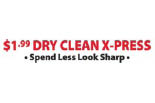 $1.99 DRY CLEAN XPRESS logo