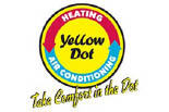 YELLOW DOT HEATING & AIR CONDITIONING logo