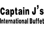 CAPTAIN J'S INTERNATIONAL BUFFETT logo