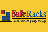 SAFE RACKS - Steel Overhead Garage Storage logo