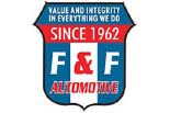 F & F AUTOMOTIVE logo
